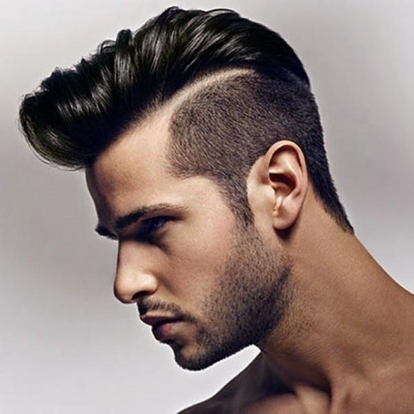 Rayas para corte de cabello de hombre