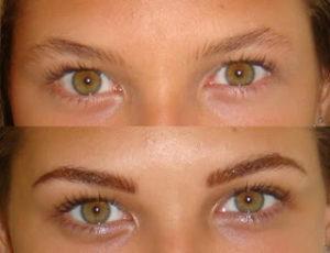 Micropigmentación de cejas y ojos